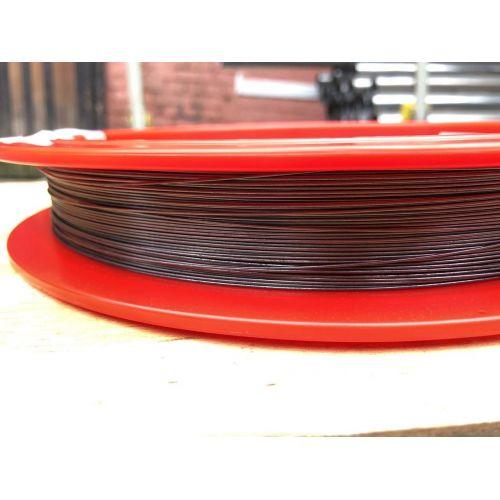 Alambre de tungsteno Ø0.1-1.5mm 99.95% metal puro pulgada corte bombilla 1-50Meter, Metales raros