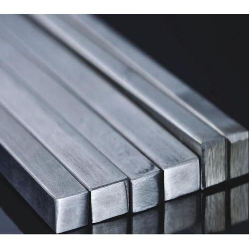 Barra cuadrada de acero inoxidable barra cuadrada sólida barra de perfil V2A, acero inoxidable