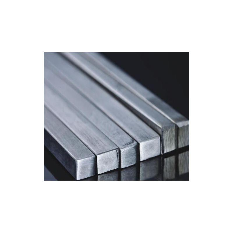 Barra de varilla cuadrada de acero inoxidable material completo barra cuadrada barra de perfil V2A