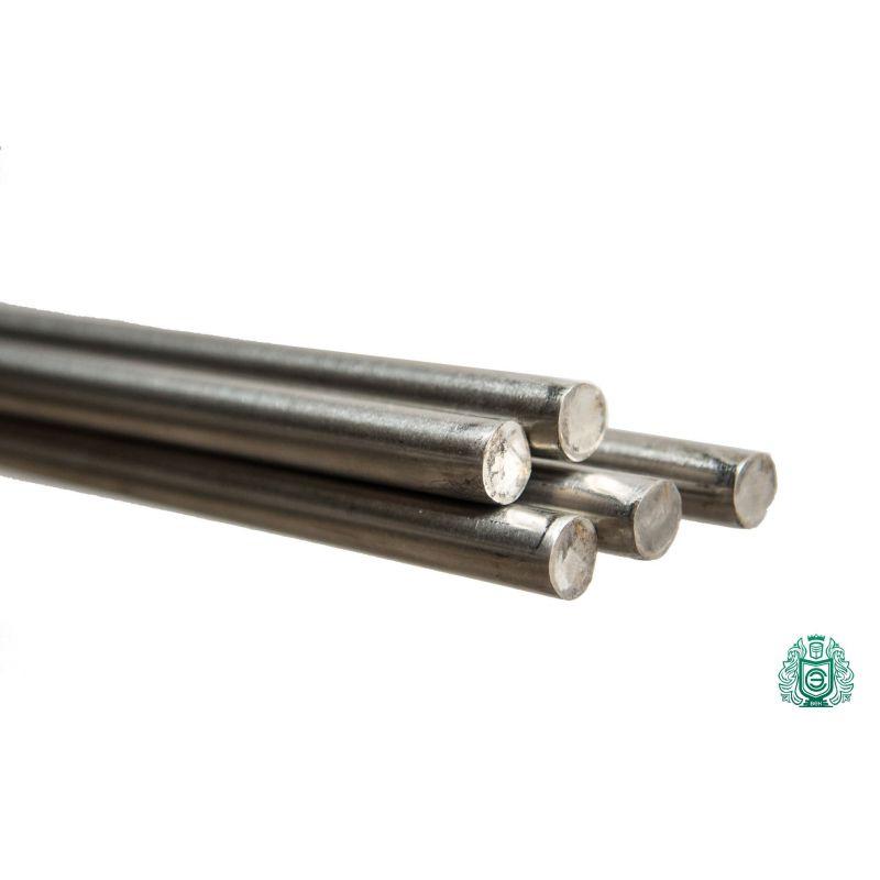Varilla de acero inoxidable 4mm-36mm 1.4571 V4A 316Ti perfil de varilla redonda Varilla de acero redondo 316 Ti, acero