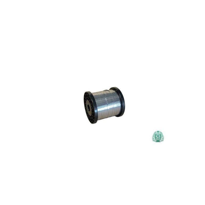 Banda de acero inoxidable Banda de chapa alambre plano 0.4x45mm, 0.8x20mm V2A 1.4301 Cinta 304, acero inoxidable