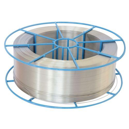 Acero inoxidable Ø 0.6-5mm alambre de soldadura V2A gas de protección EN 1.4370 MIG MAG 307LSi 0.5-25kg