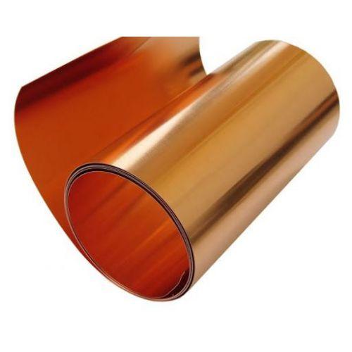 Cinta de cobre de 0.1x600 mm Cinta de cobre de 0.1 metros a 100 metros