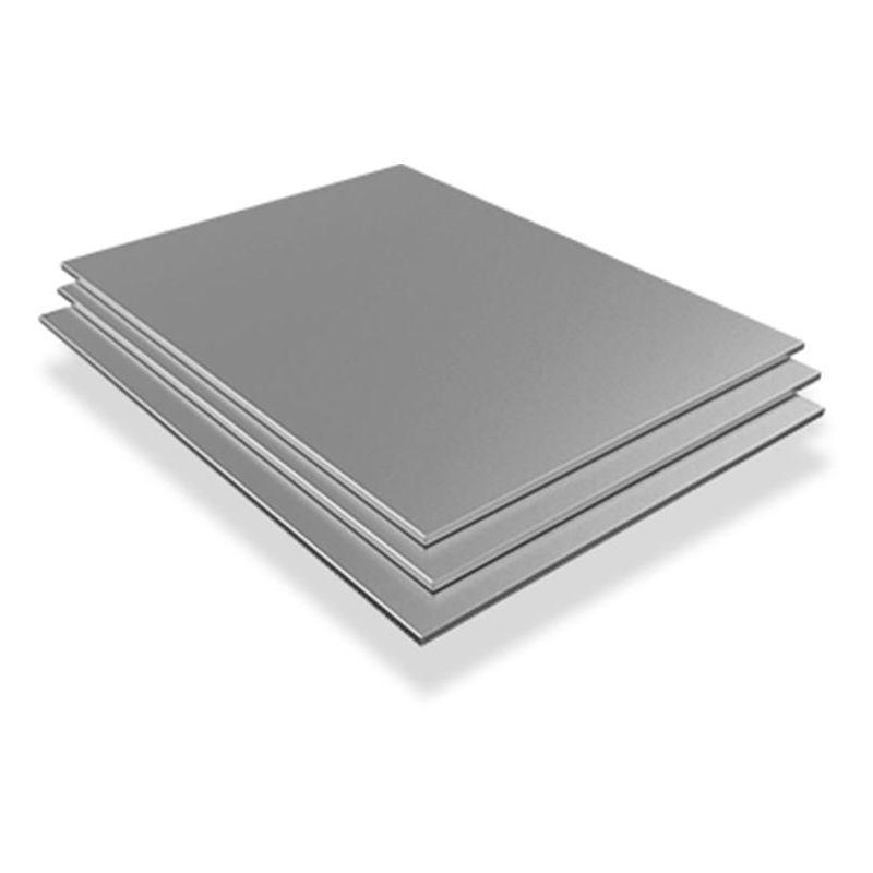 Chapa de acero inoxidable Placas V2A 1.4301 de 2,5 mm Hojas cortadas de 100 mm a 2000 mm, acero inoxidable