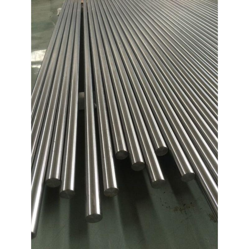 Titanio grado 5 bar Ti 6Al-4V barra redonda 3.7164 dia 20-200mm eje sólido 0.1-2.5 metros, titanio
