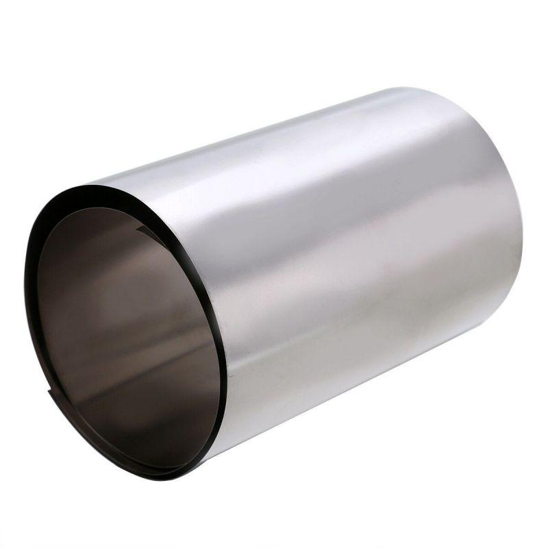Espesor de banda de titanio 0.1-0.5 mm titanio 3.7025 ancho banda de 100 mm 0.1 metro a 50 metros, titanio