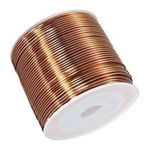 Alambre de cobre Ø0.05-2.8mm alambre esmaltado Cu 99.9 wnr 2.0090 alambre artesanal 2-750 metros