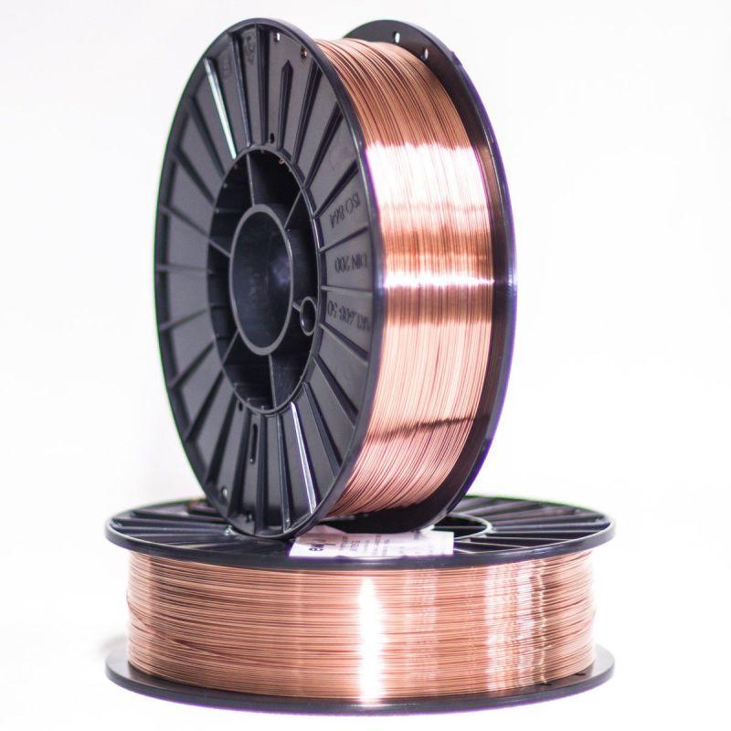0.5-25kg de alambre de soldadura de gas de protección de acero Ø 0.6-5mm EN 1.5424 ER 80 SG,  Soldadura y soldadura