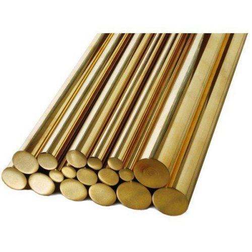 Varilla Ø1.5-60mm latón 2.0401 Ms58 varilla redonda varilla material redondo