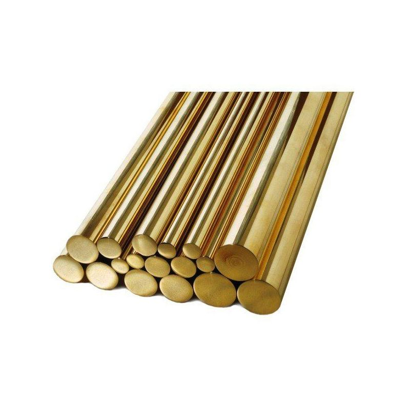 Varilla Ø1.5-60mm latón 2.0401 Ms58 varilla redonda varilla material redondo, latón
