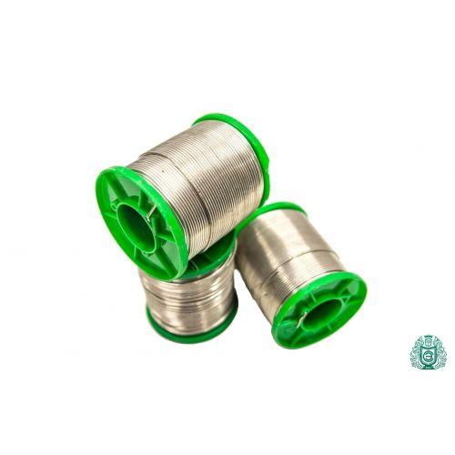 Estaño para soldar Sn99Cu1 dia 1.5mm con líquido 2.5% sin plomo 25gr-1kg, soldar y soldar