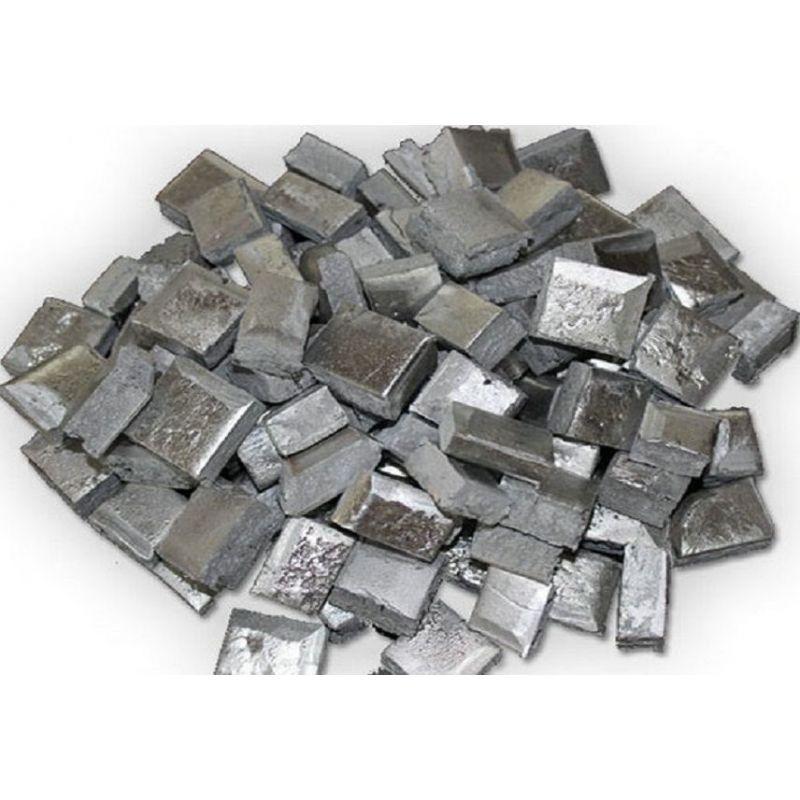 Escandio Aluminio AlSc Aluminio 98% Escandio 2% barras de pepitas 5-10 kg