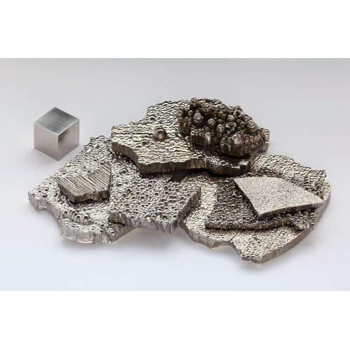 Cobalt Intermediate Co 99,3% elemento metálico puro 27 barras de pepitas 25 kg de cobalto