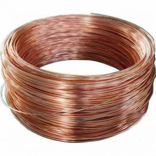 Hilo de cobre en bruto Ø0.1-5mm sin barniz alambre artesanal Cu 99 sin recubrimiento 2-750 metros