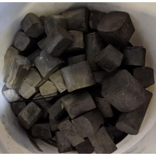 Chatarra de tungsteno W 99,9% elemento 74 Pepita de metal puro 10 kg de tungsteno