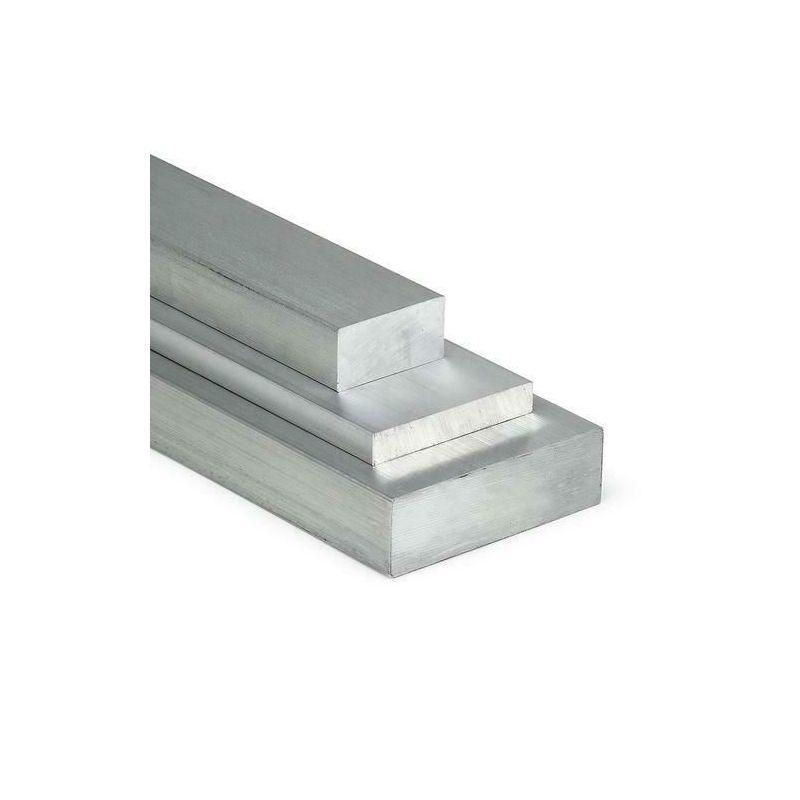 Barra plana de aluminio 20x2mm-100x40mm AlMgSi0.5 material plano perfil de aluminio huevo plano
