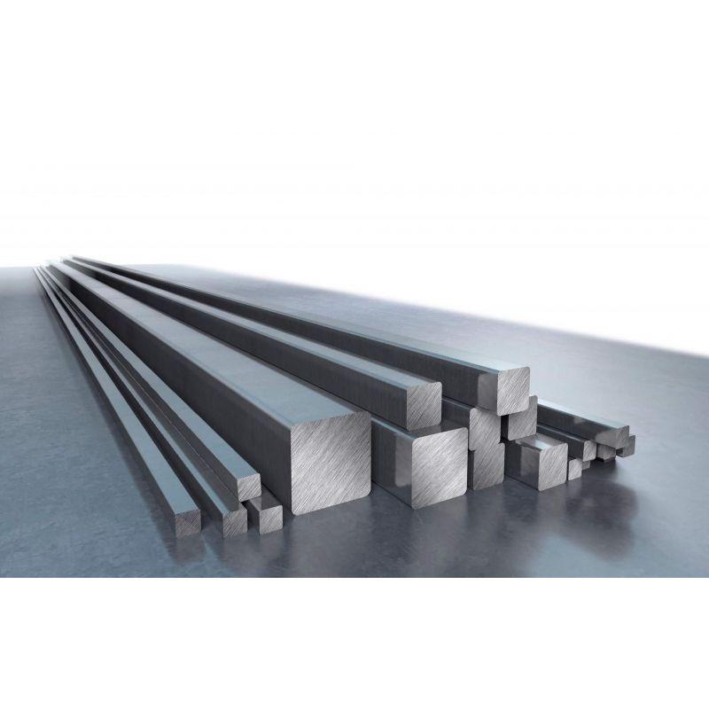 Varilla cuadrada de aluminio Ø 8-80mm Varilla cuadrada Varilla maciza Varilla cuadrada