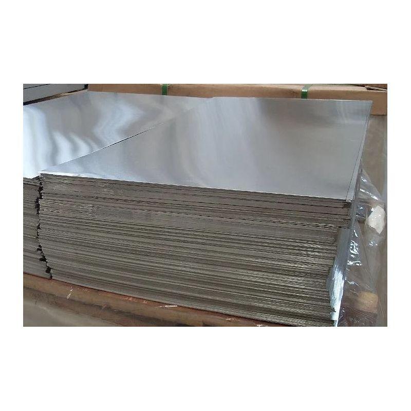 Lámina de aluminio Placas de 2,5 mm Láminas de aluminio Lámina fina seleccionable de 100 mm a 2000 mm