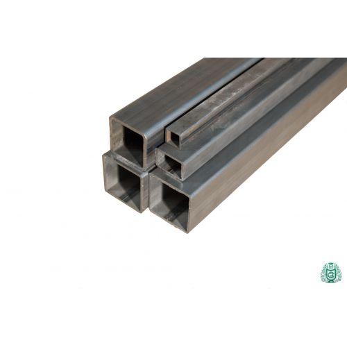 Tubo cuadrado tubo de acero perfil hueco tubo cuadrado de acero diámetro 12x12x1,5 a 100x100x3 2,5-5 metros