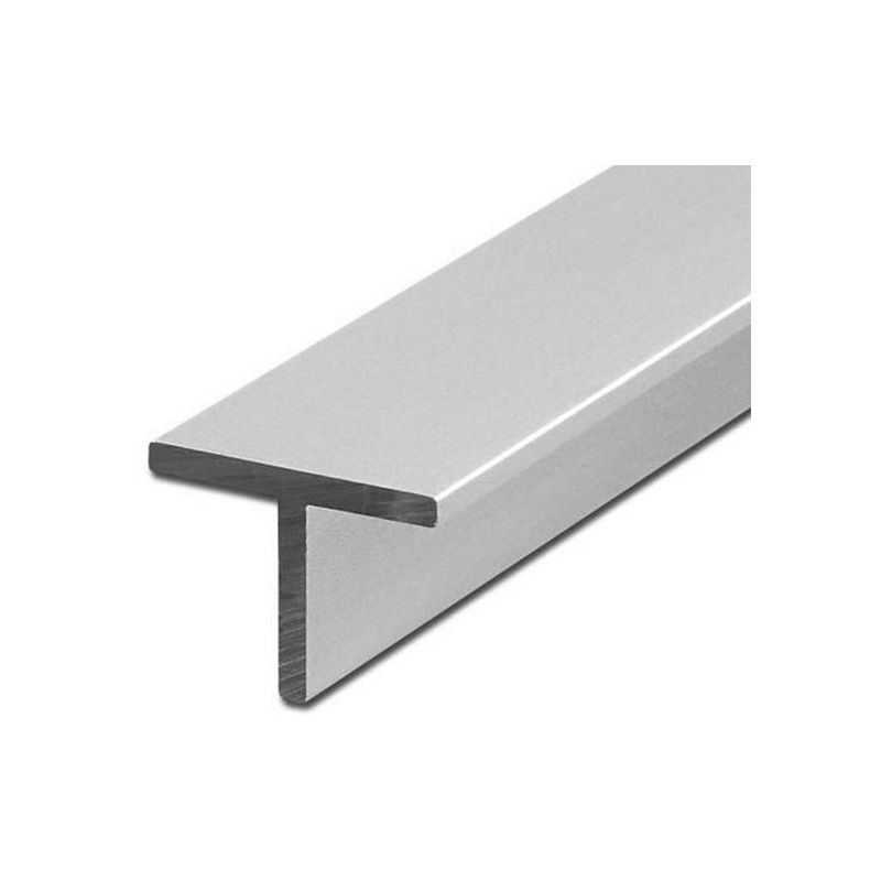 Perfil en T de aluminio isósceles 40x40x5mm alu 0,25-2 metros