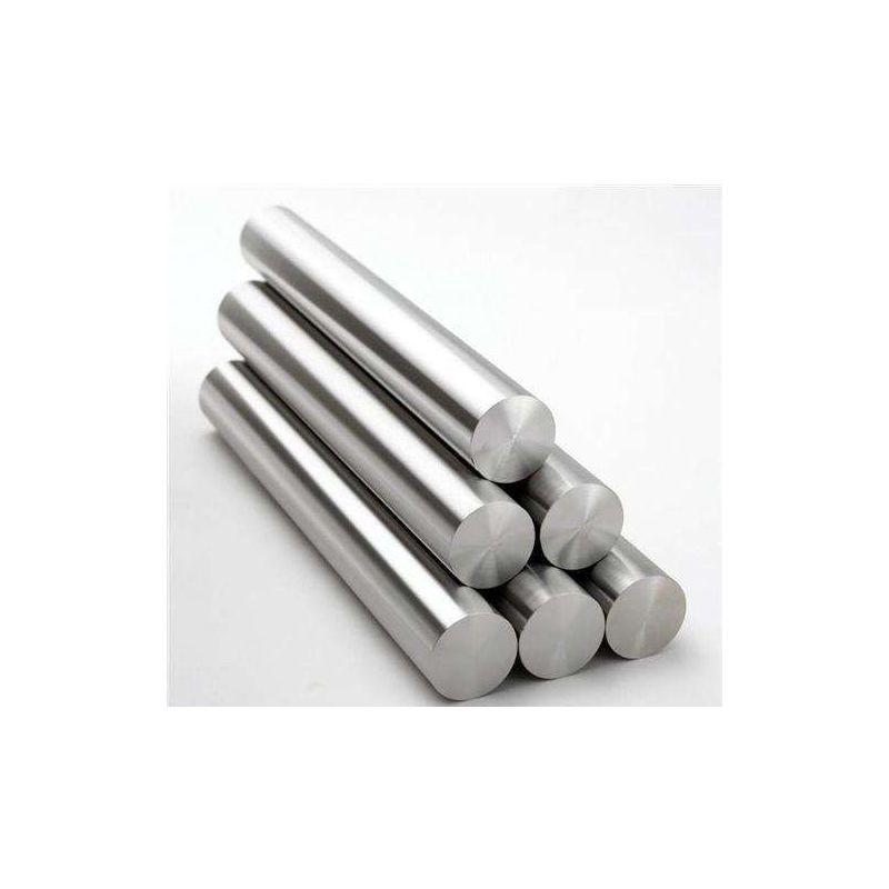 Gost 12h18n10t barra 2-120mm barra redonda 12x18h10t perfil barra redonda de acero 0,5-2 metros