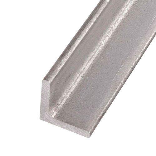 Perfil en L de acero inoxidable isósceles 40x40x4mm 0,25-2 Met