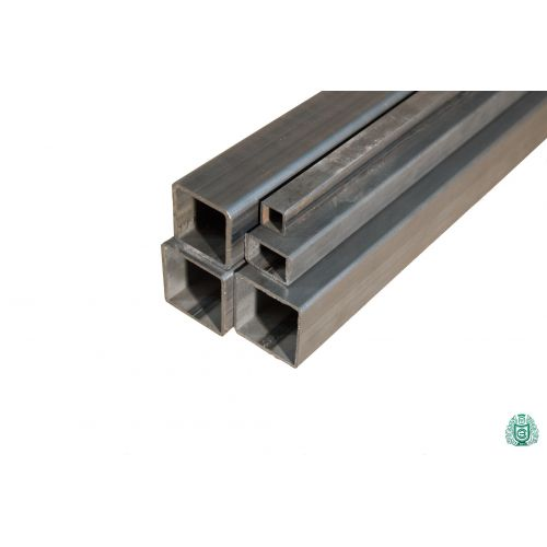 Tubo cuadrado tubo de acero perfil hueco tubo cuadrado de acero diámetro 12x12x1,5 a 100x100x3 0,2-2 metros
