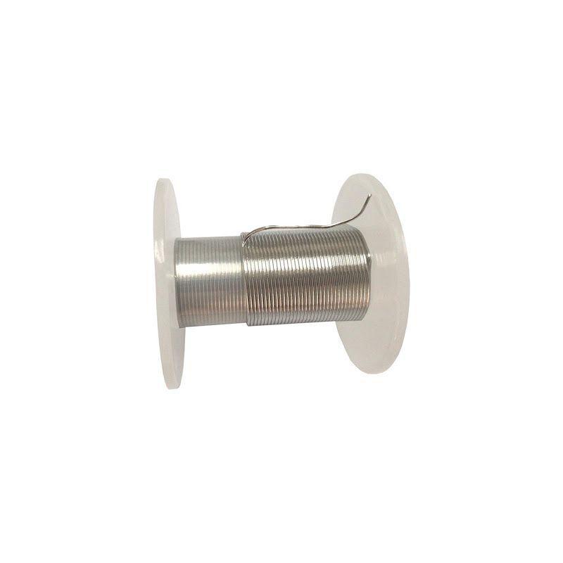 Alambre de indio 99,9% desde Ø 0,5 mm hasta Ø 5 mm elemento de metal puro 49 Alambre