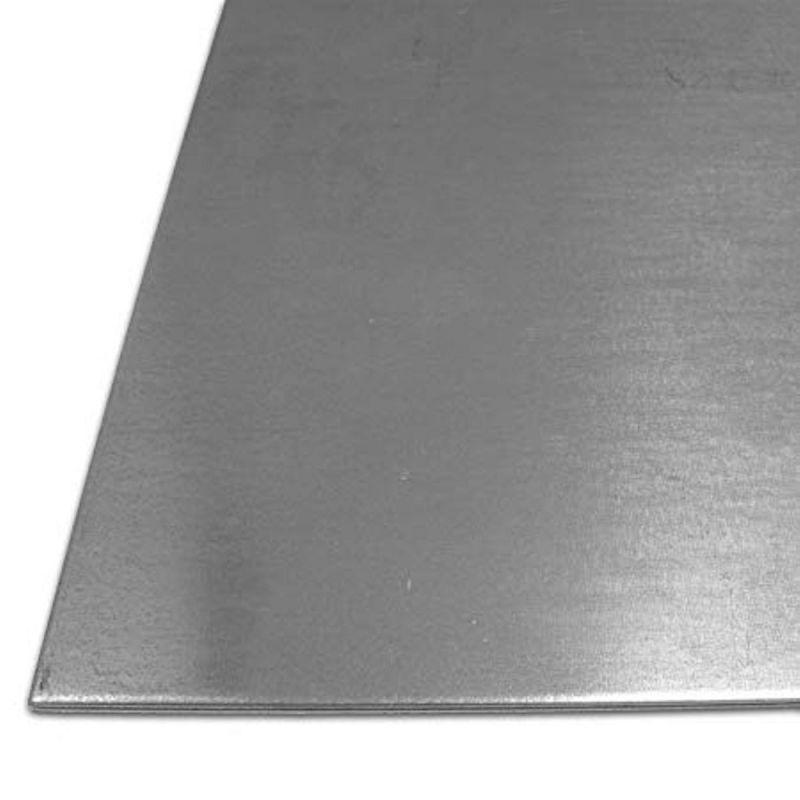 Chapa de acero 1-4mm Placas galvanizadas S235 Placas Chapa de acero 100 mm a 1000 mm