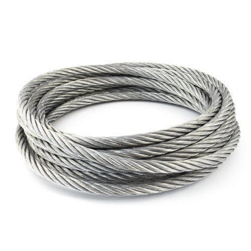 Cable de acero inoxidable diámetro 1-8 mm 1.4406 V4A 5-250 metros 7x7 y 7x19 cuerda de acero