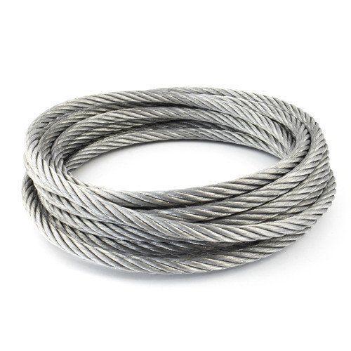 Cable de acero inoxidable diámetro 1-8mm 1.4406 V4A 5-250 metros 7x7 y 7x19 cuerda de acero