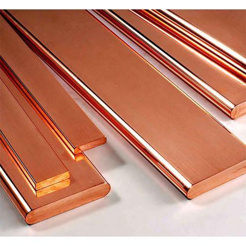 Barra plana de cobre Tiras de chapa de 30x2mm-90x10mm cortadas a 0,5 a 2 metros