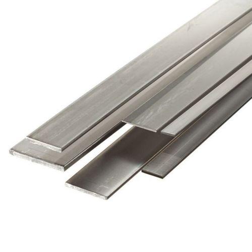 Barra plana de acero 30x2mm-90x12mm fleje de chapa cortada a 1 metro de longitud