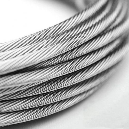 Cable de acero inoxidable 1-8mm V4A 1.4401 316 7x7 y 7x19 cable de acero 5-250 metros