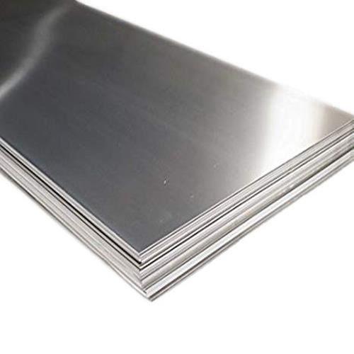 Hoja de acero inoxidable 4mm-6mm V4A Wnr. 1.4571 hojas hojas cortadas a medida de 100 mm a 1000 mm