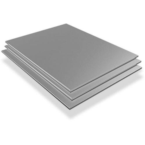 Hoja de acero inoxidable 7mm V2A 1.4301 hojas hojas cortadas de 100 mm a 2000 mm