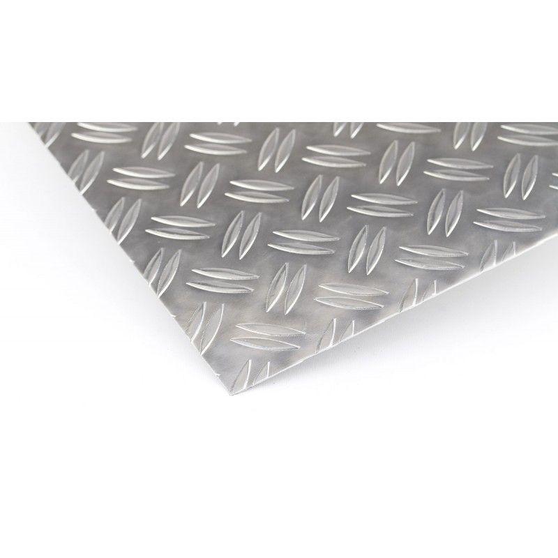 Barra plana de aluminio de 2 metros de quinteto en tiras cortadas en chapa