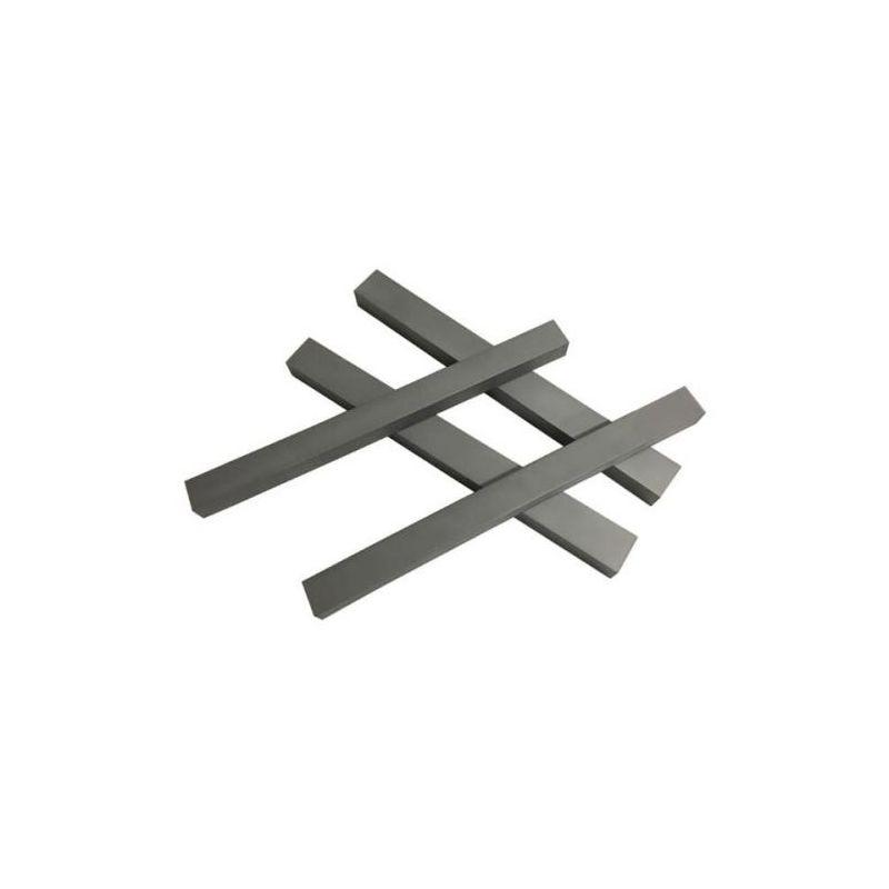Tungsteno 99% elemento 74 Tiras de metal puro Tiras de tungsteno 0.2x20x104mm