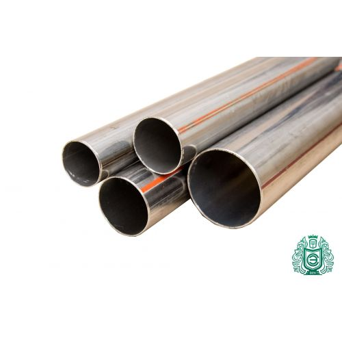 Tubo de acero inoxidable 14x0,5-89x2mm 1,4541 Aisi 321 tubo redondo barandilla de construcción metálica 0,25-2 metros de agua