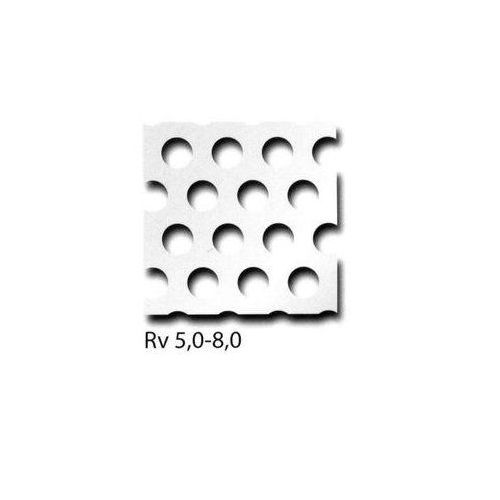 Los paneles de aluminio de chapa perforada RV3-5 + RV5-8 + RV10-15 se pueden cortar a la medida, el tamaño deseado es posible