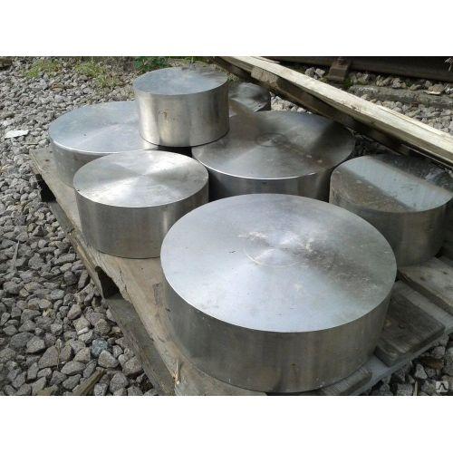Hoja redonda de acero inoxidable 20mm 1.4571 Disco redondo Varilla de acero redondo 316Ti Ø 100-300mm
