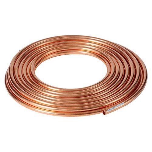 Tubo de cobre 3x0.5mm-4x1mm recocido suave en el anillo de agua GAS DE ACEITE calentamiento 1-50 metros
