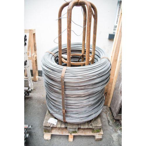 Alambre de tensión 0.6-8mm alambre de unión de hierro galvanizado flores tinker mesh 10-500 metros, acero