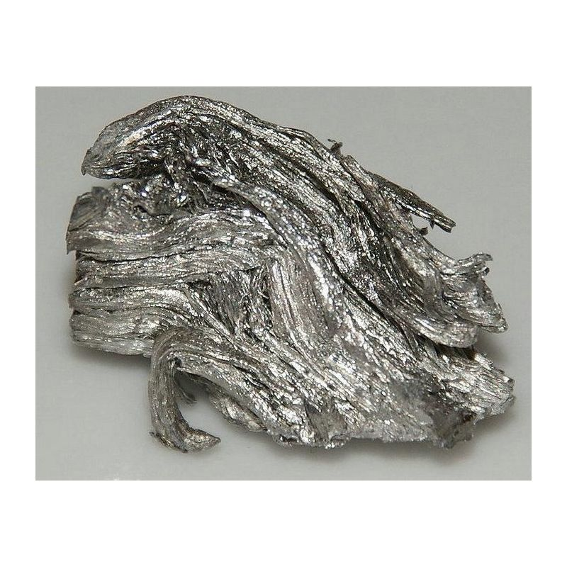 Erbio metal 99,9% metal puro elemento metálico Er elemento 68, metales raros