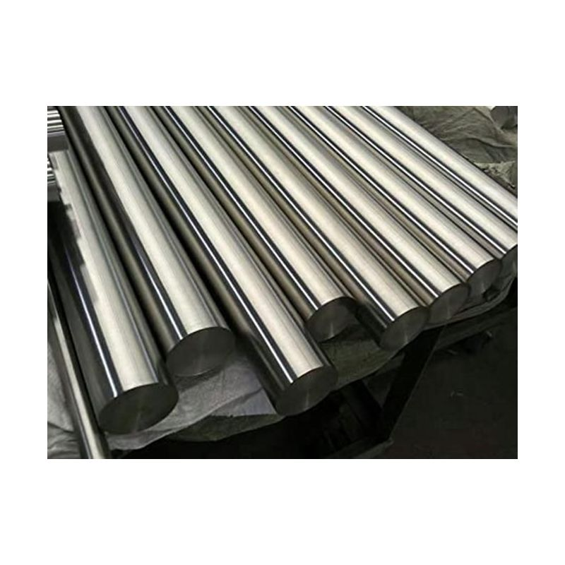 Varilla redonda de metal níquel 200 99,9% de Ø 2 mm a Ø 120 mm Elemento de Ni 28, aleación de níquel