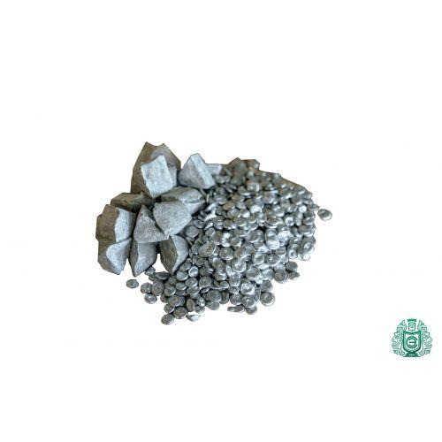 Zinc Zn pureza 99.99% zinc puro metal puro elemento 30 pirámides 10gr-5kg