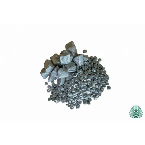 Zinc Zn pureza 99.99% zinc puro metal puro elemento 30 pirámides 10gr-5kg, Metales raros