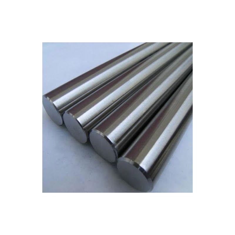 Varilla redonda de metal de niobio 99.9% de Ø 2 mm a Ø 120 mm Niobio Elemento Nb 41,  Metales raros