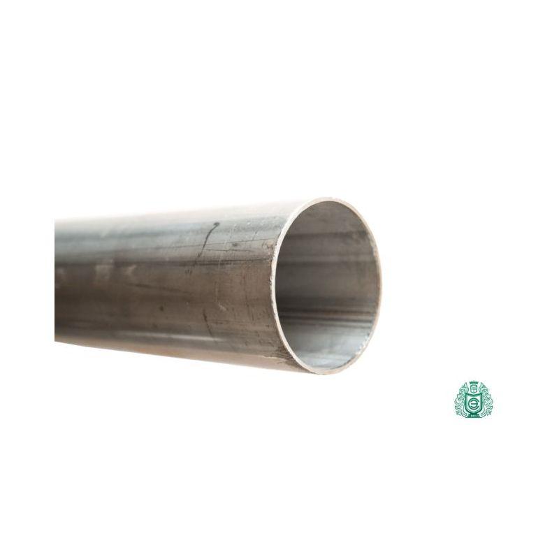 Barandilla de tubo de acero inoxidable 1.4301 28x1mm tubo redondo V2A escape Aisi 304 construcción de metal 0,25-2 metros,