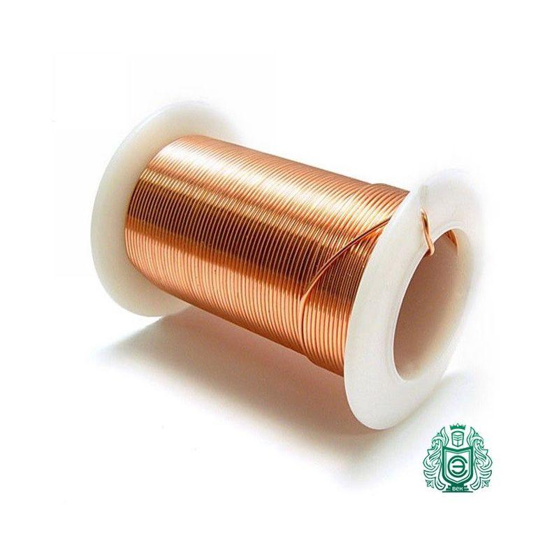 2-200 metros de alambre de cobre Manganina Ø 0.2mm 2.1362 CuMn12Ni alambre esmaltado, alambre artesanal, cobre